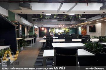 Thi công nội thất văn phòng Hà Nội