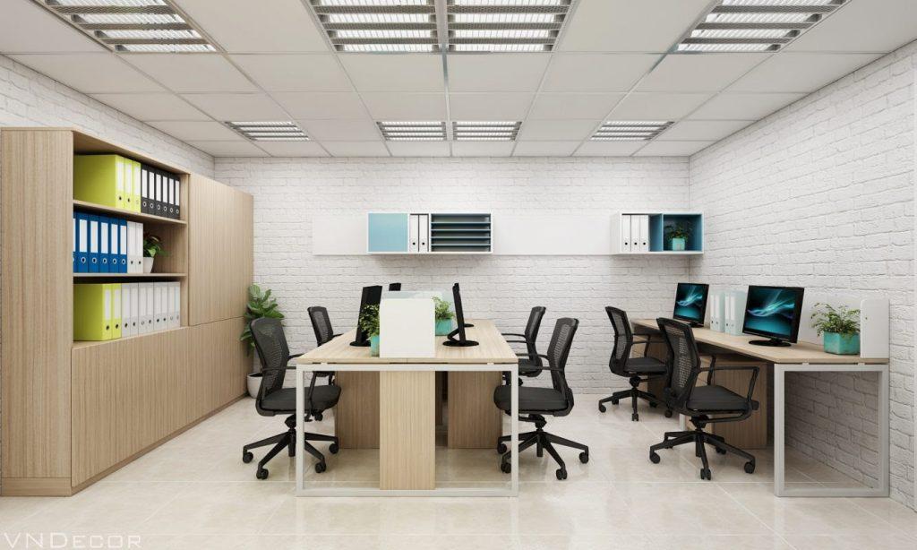 thiết kế văn phòng diện tích nhỏ
