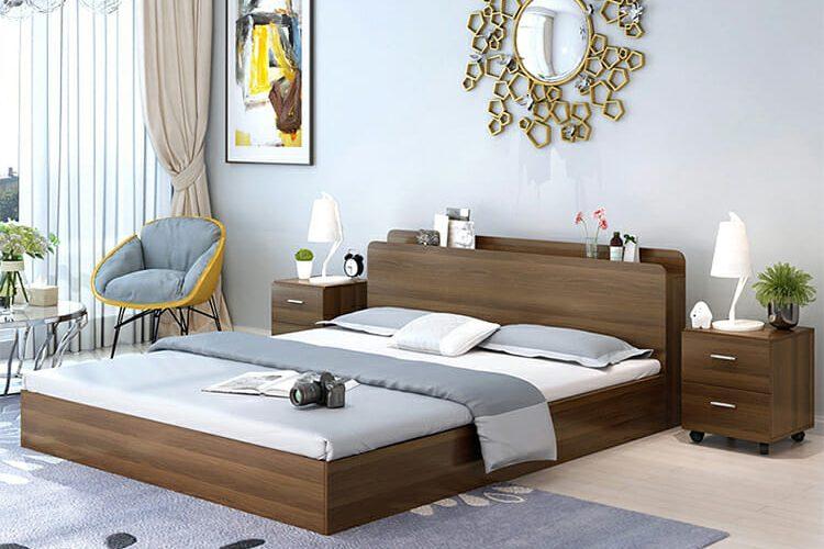 các mẫu giường ngủ gỗ công nghiệp đẹp