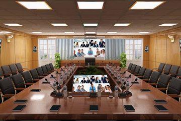 thiết kế phòng họp trực tuyến