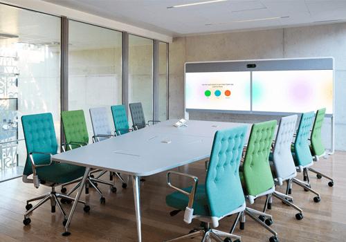 Hạn chế yếu tố trang trí trong phòng họp trực tuyến