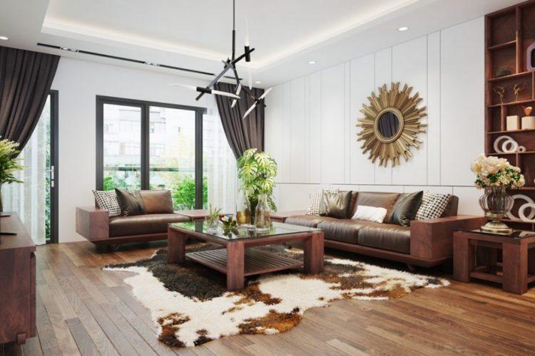 nội thất gỗ tự nhiên hiện đại