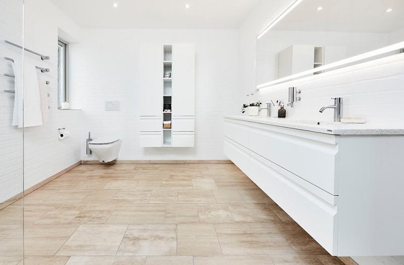 Thiết kế phòng tắm Scandinavian
