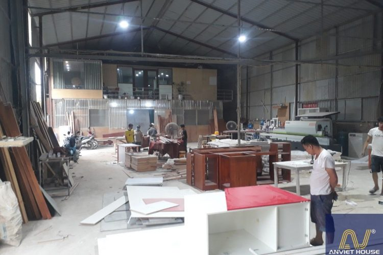công ty sản xuất đồ gỗ Anviethouse