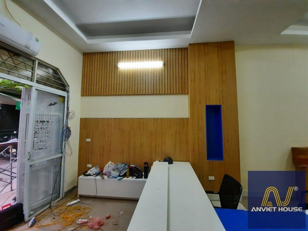 ốp gỗ văn phòng