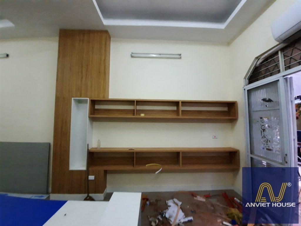 ốp gỗ nội thất văn phòng