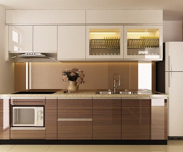 tủ bếp gỗ MDF