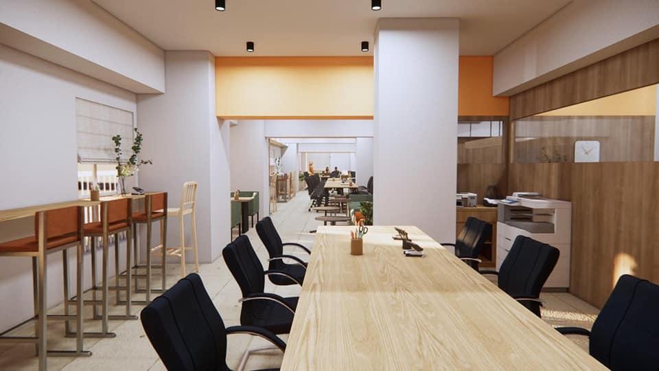 Nội thất gỗ MDF cho văn phòng
