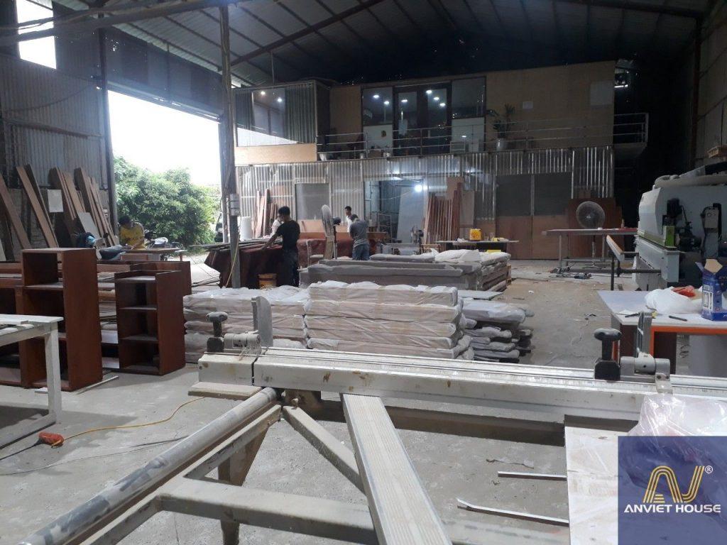 xưởng sản xuất đồ gỗ an viet house