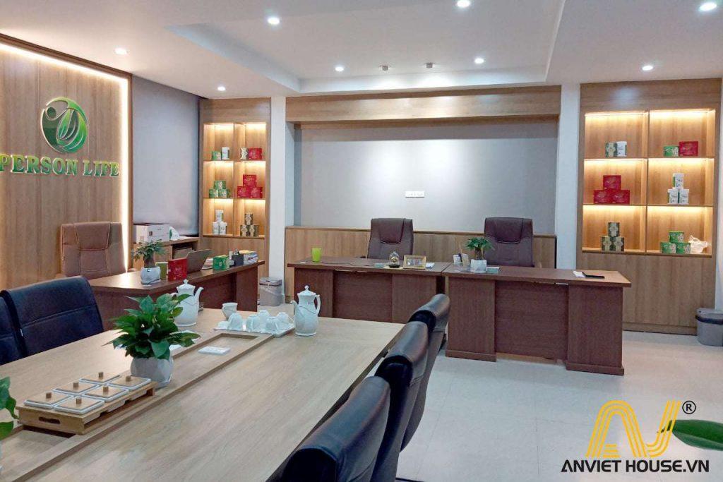 anviethouse thi công nội thất phòng lãnh đạo