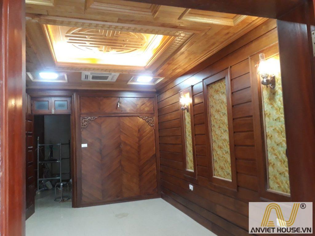 anviethouse thi công nội thất gỗ tự nhiên