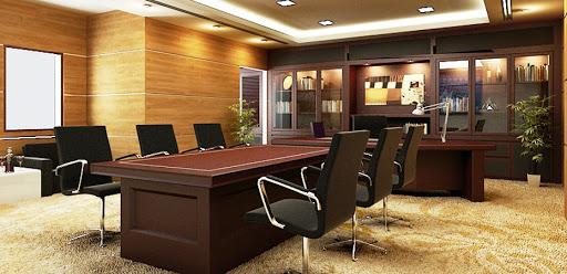 Phòng họp trong phòng giám đốc