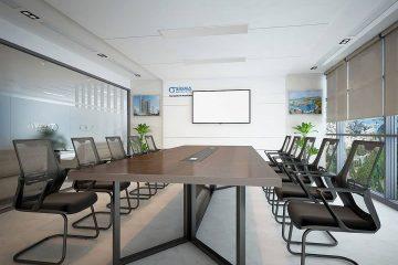 Trang trí cây xanh trong phòng họp
