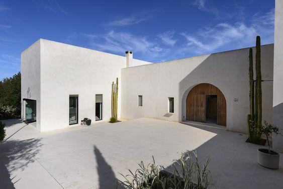 Biệt thự tại Ibiza do Pascal Cheikh-Djavadi thiết kế