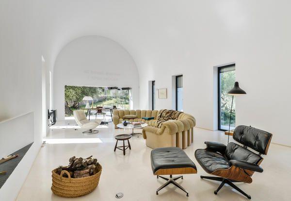 Nội thất phòng khách biệt tự tại Ibiza