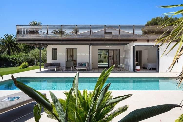 Nội thất biệt thự đẹp nhất thế giới - biệt thự tại Saint Tropez do công ty Vincent Coste thiết kế