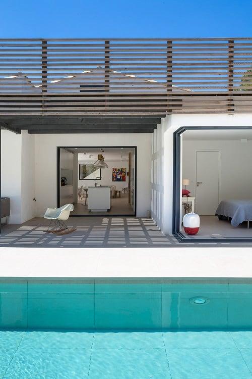 Nội thất tầng 1 biệt thự tại Saint Tropez