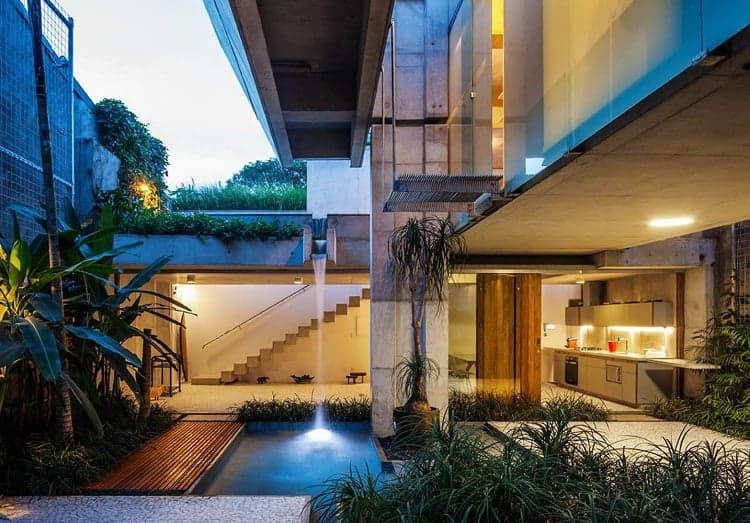 Nội thất biệt thự đẹp nhất thế giới - biệt thự nghỉ dưỡng tại Sao Paolo