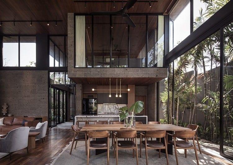 Thiết kế nội thất biệt thự River House Bali