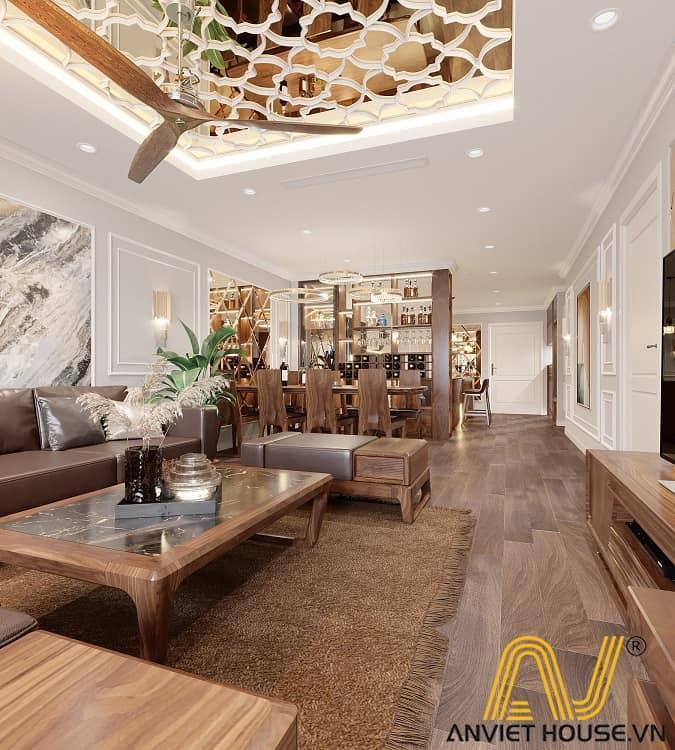 chung cư cao cấp Sunshine Golden - An Viet House thiết kế
