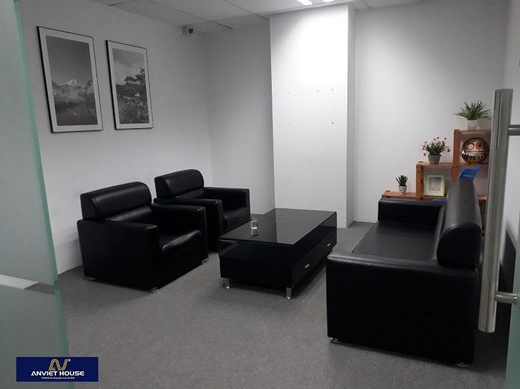phòng tiếp khách văn phòng tòa nhà CMC