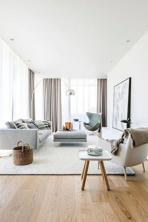 căn hộ chung cư phong cách Scandinavian
