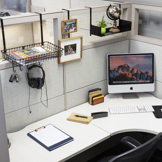 decor bàn làm việc văn phòng