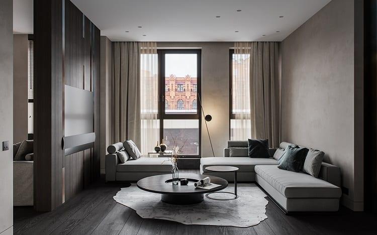 căn hộ hiện đại nội thất sang trọng