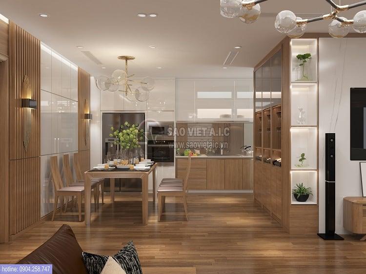 công ty thiết kế nội thất chung cư uy tín Sao Việt