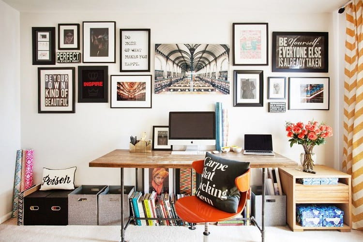 phòng làm việc tại nhà