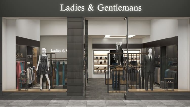 thiết kế mặt tiền cửa hàng quần áo