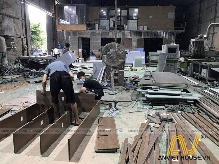 xưởng sản xuất an viet house