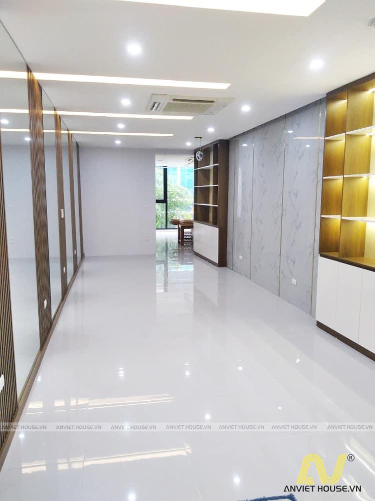 showroom mỹ phẩm kết hợp spa Daysaki_An Viet House thiết kế và thi công